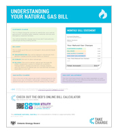 Understanding Your Natural Gas Bill
