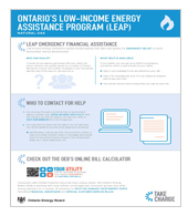 Ontario's Low-Income Energy Assistance Program (LEAP) for Natural Gas Consumers