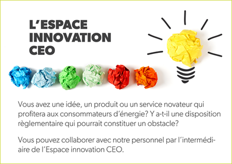 l'Espace innovation CEO
